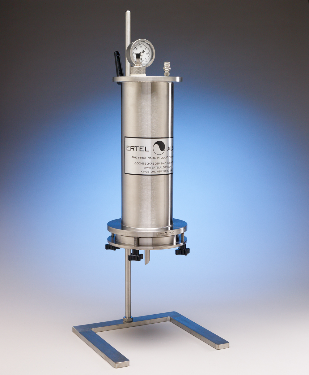 Stainless Steel and Pyrex Laboratory Filter