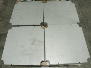 stainless steel plate waterjet cut